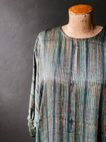 Load image into Gallery viewer, Love The Skin You're In Dress - Silky Printed Modal - Stripey