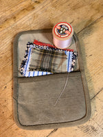 Load image into Gallery viewer, The Mending Kit - Made from Upcycled Indian Army Tent Canvas