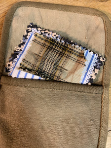 The Mending Kit - Made from Upcycled Indian Army Tent Canvas