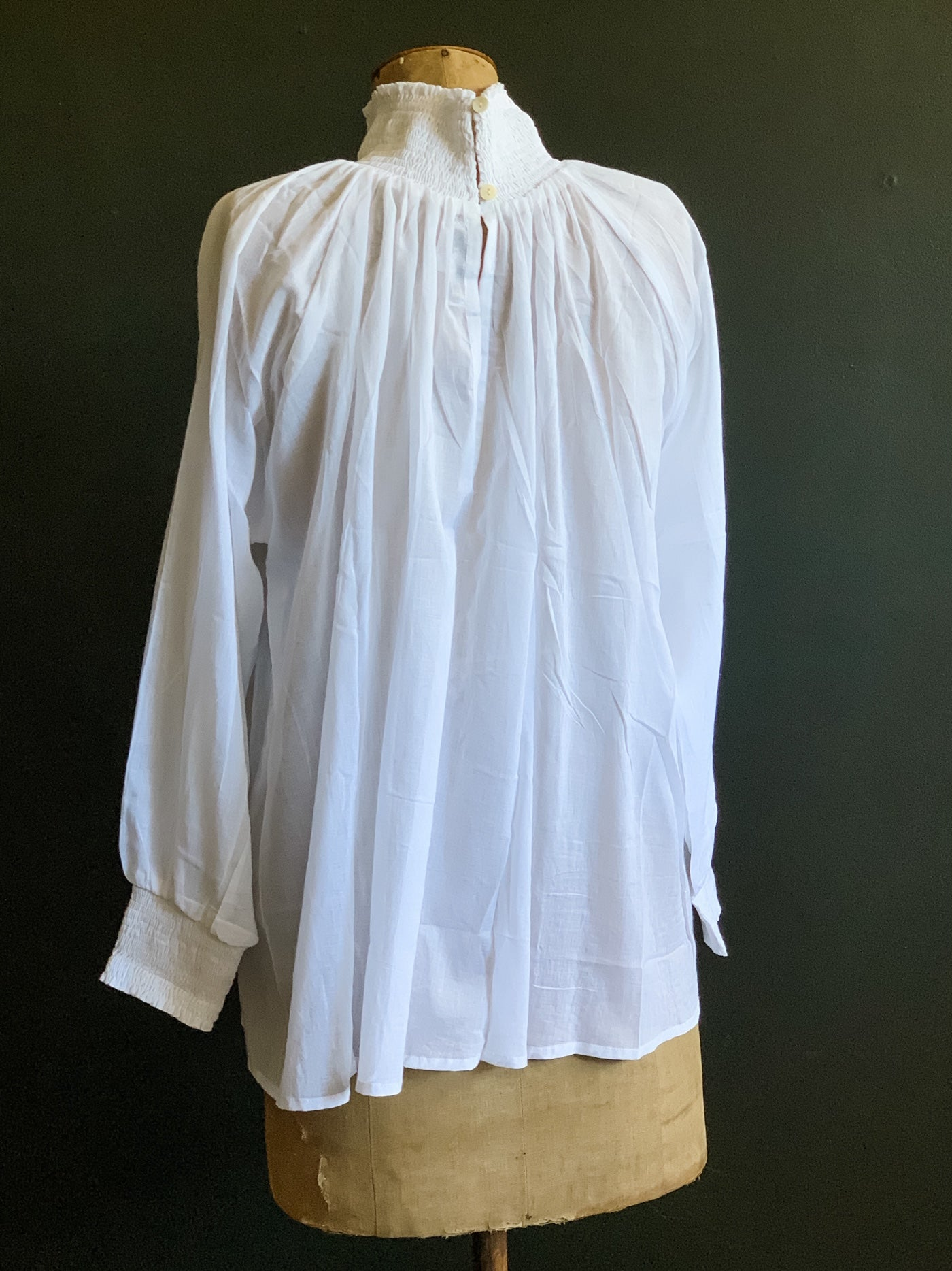 Angel Top - White Sheer Cotton