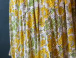 Load image into Gallery viewer, The Angel Dress - Floral Cotton - Yellow
