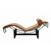 LC4 Corbusier Style Italian Leather Chaise Longue - Stíl