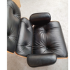 Herman Miller Eames Style Lounge Chair and Ottoman in full Leather