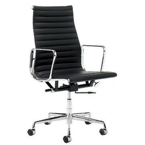High Back Ribbed Eames Style EA119 - Stíl