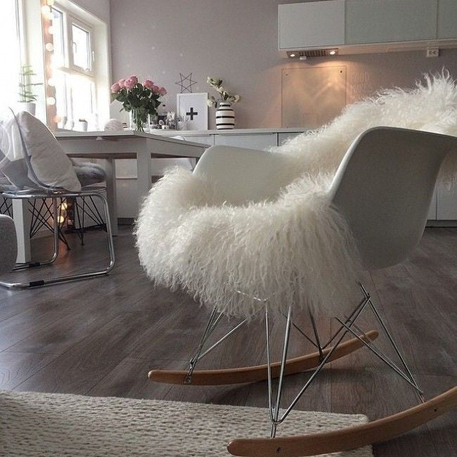 Charles Eames Style RAR Rocking Chair - Stíl