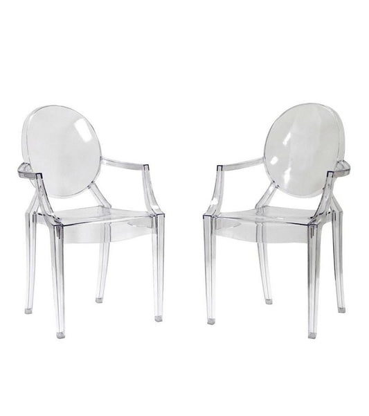 Louis Ghost Chairs Philippe Starck Style