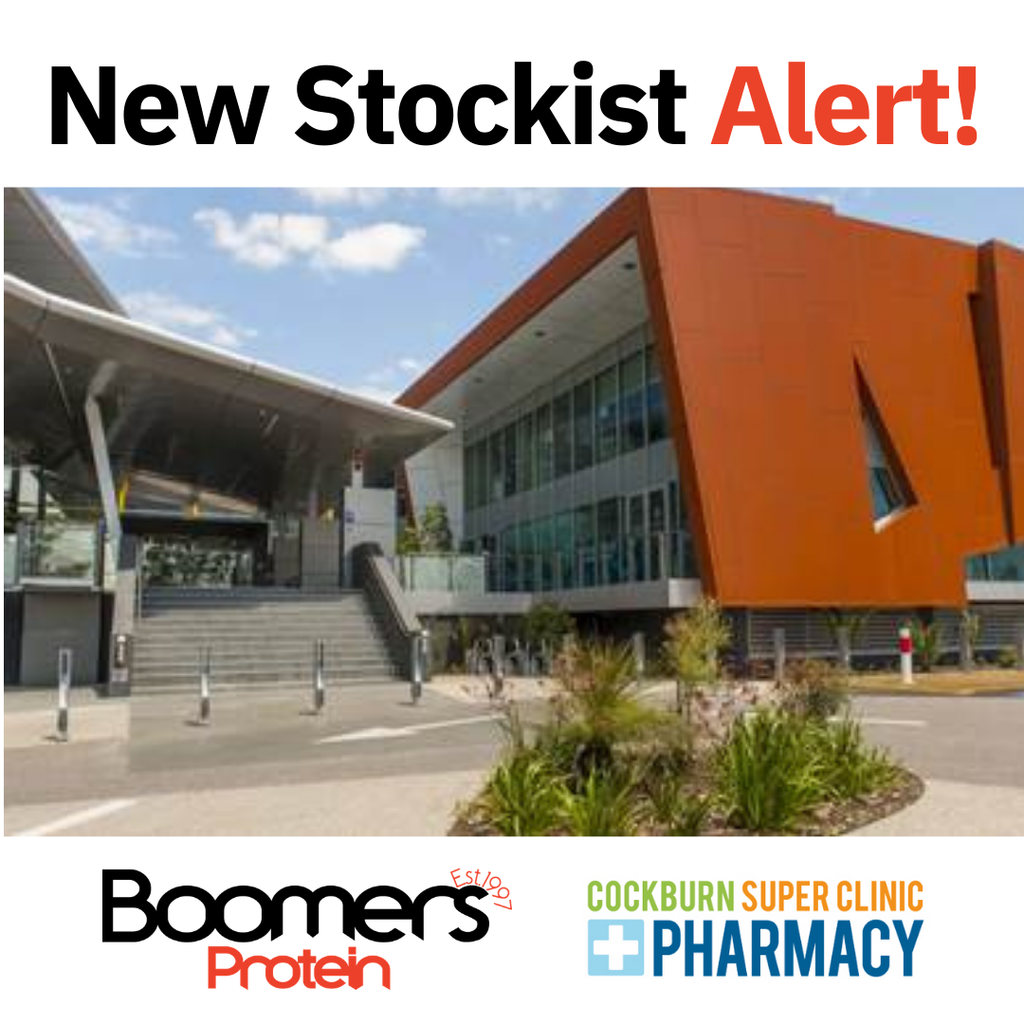 New Stockist - Cockburn Super Clinic Pharmacy
