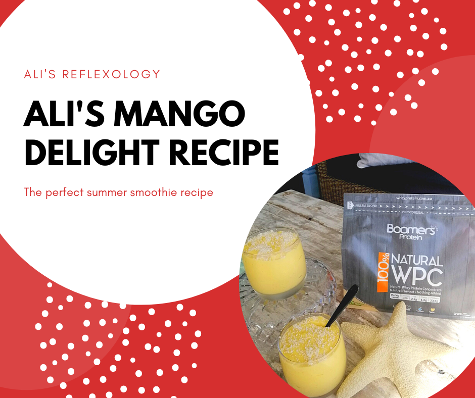 Ali's Mango Delight Smoothie Recipe