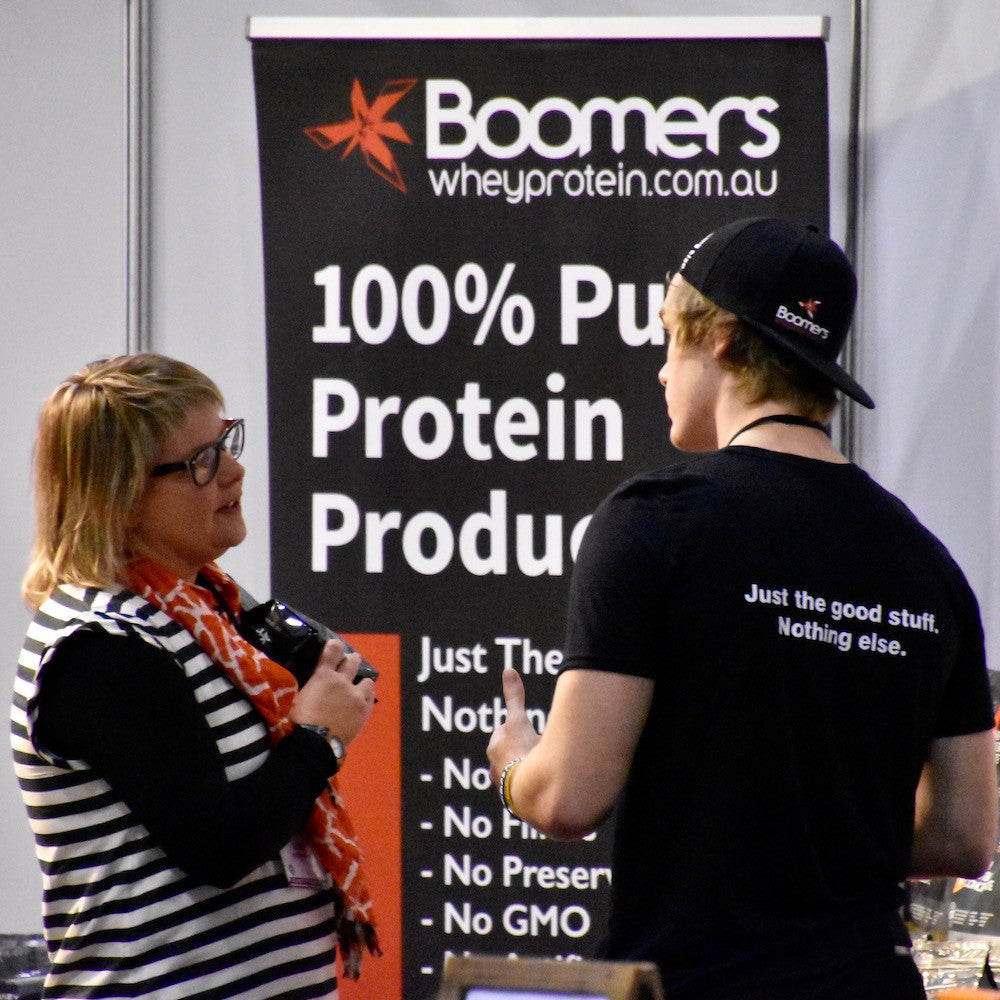 Boomers Protein crew hits Melbourne