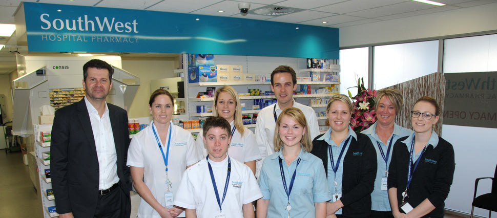 Focus on: SouthWest Hospital Pharmacy - Boomers stockist