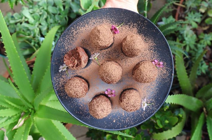 Low Carb Protein Bliss Balls