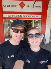 Craig and Julie Visiting a stockist in Kalgoorlie