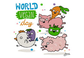 World Vegan Day November 1st Boomers Protein
