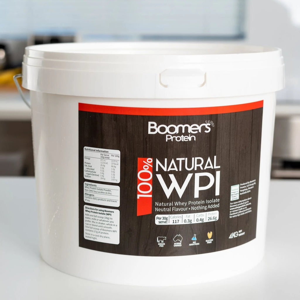 Boomers New Zealand Natural Whey Protein Isolate