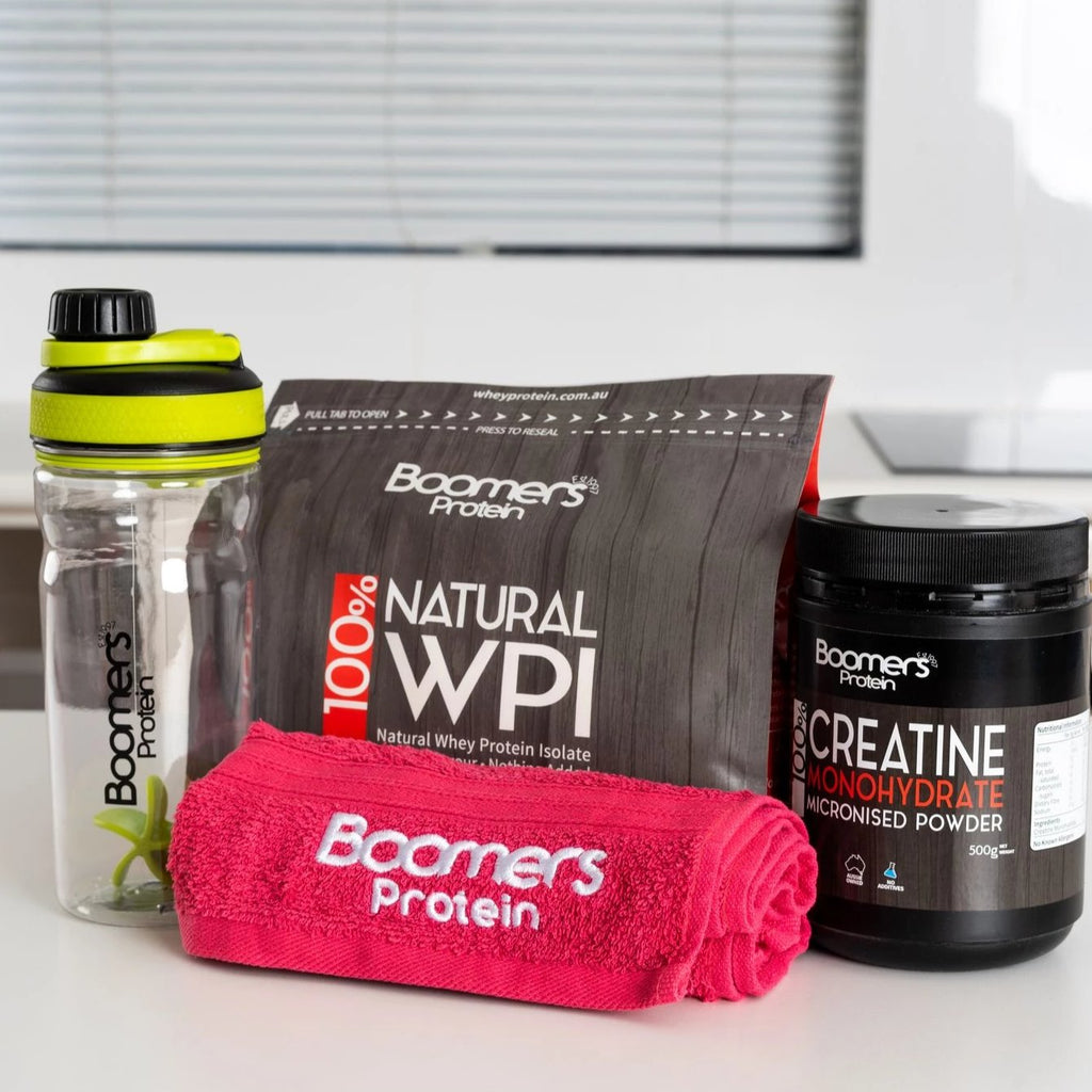 Gym Pack with a FREE 500gm CREATINE whilst stocks last