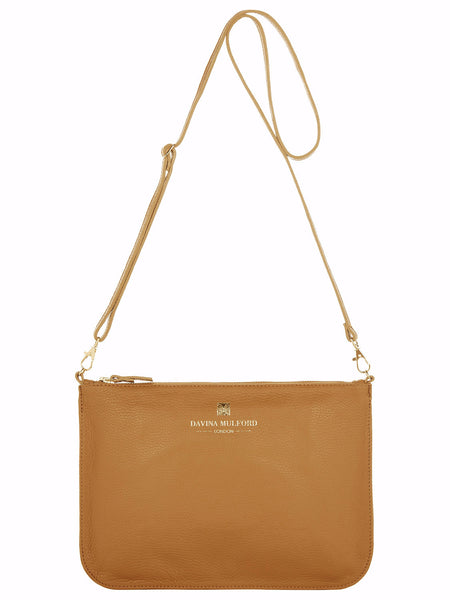 Essential Cross Body Bag - Tan