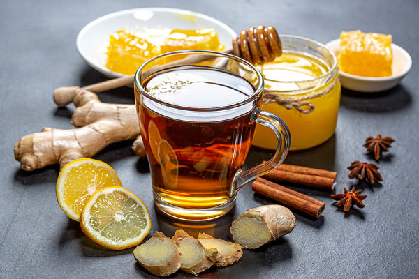 Is it good to drink green tea flavour with honey and lemon for weight loss?