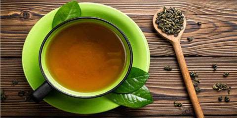 Does green tea help in reducing weight?