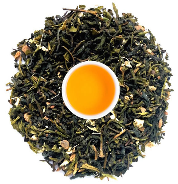 Buy Darjeeling Green Chai Tea: The Emerald Masala