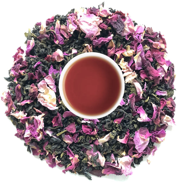 Buy Darjeeling's Rose Oolong Tea Leaves Online