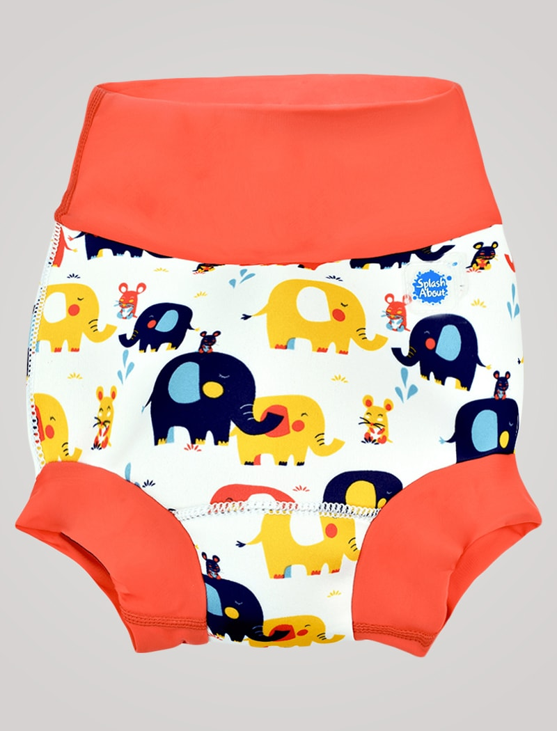 Image of   Splash About Happy Nappy Blebadebukser - Little Elephants