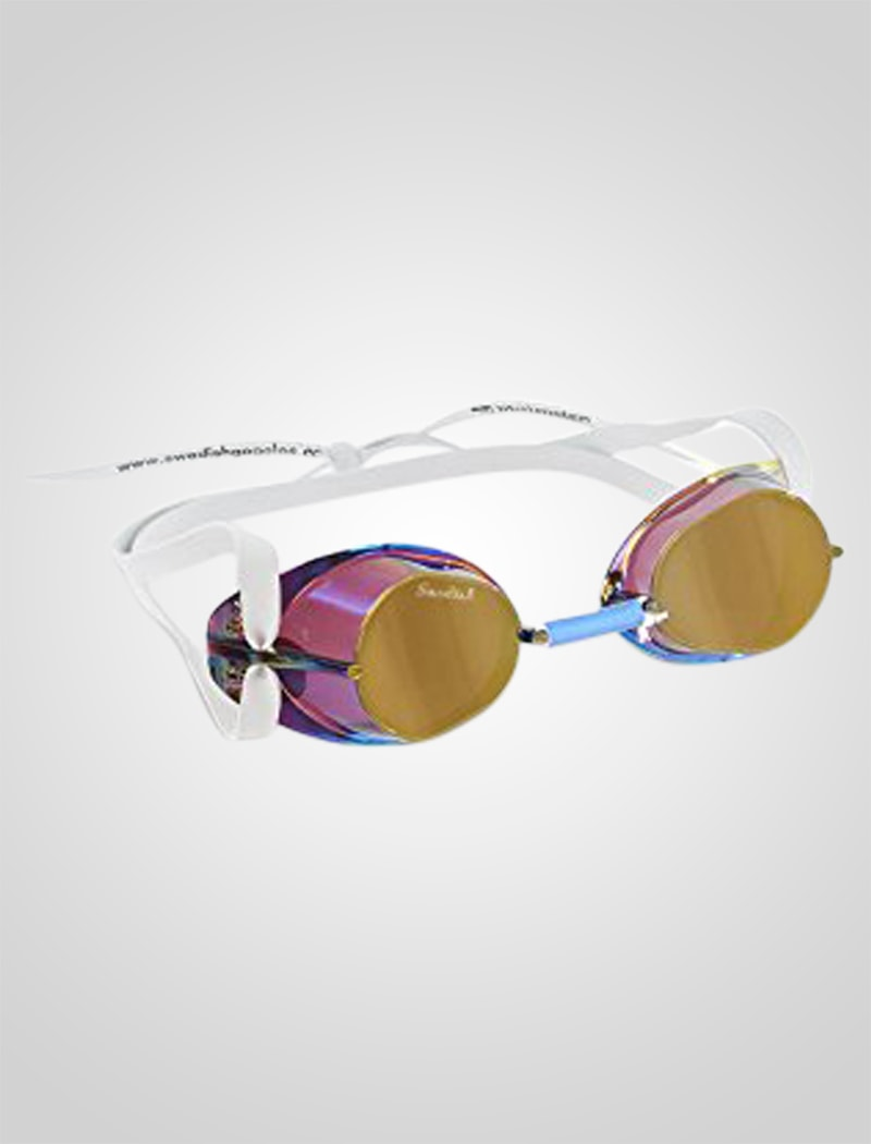 Image of   Malmsten Swedish Mirror Goggle - Blue Oil
