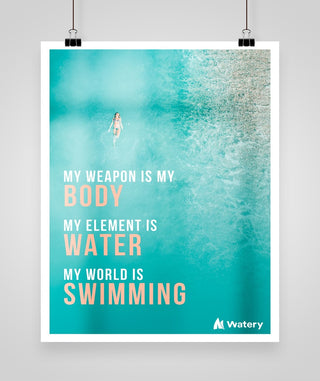 My World is Swimming