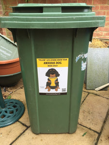 A4 Wheelie Bin Sticker
