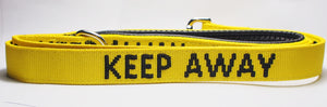 "Dog Lead ""KEEP AWAY"" - Medium/Large"