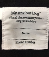 My Anxious dog Raincoat 10""