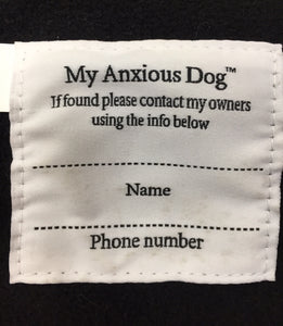 My Anxious dog Raincoat 16""
