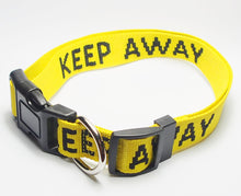 """KEEP AWAY"" Large Collar"