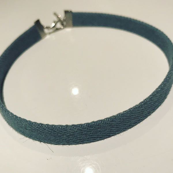 Choker Denim