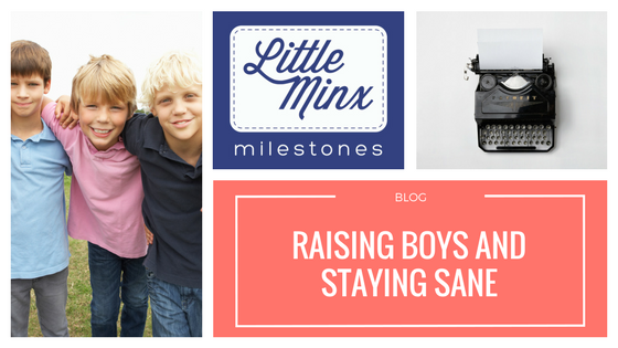 How to keep your sanity when you are a Mum of FIVE boys