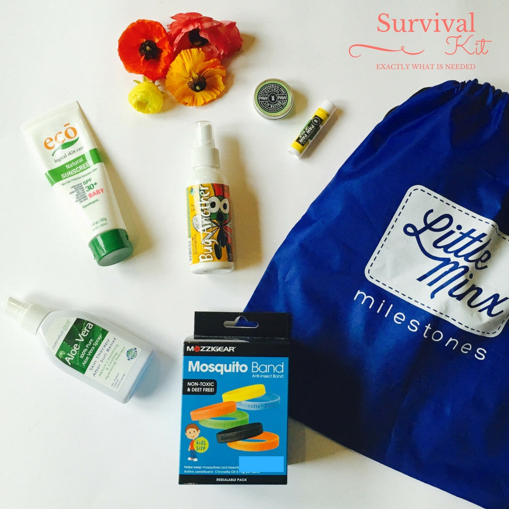 Natural Sun Screen Summer Survival Kit