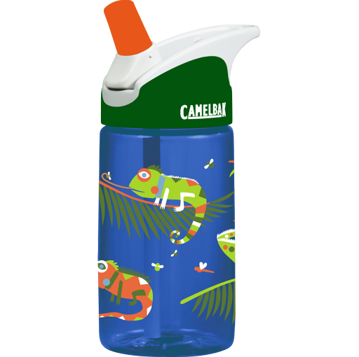 CamelBak Kids .4L Drink Bottle: Iguana