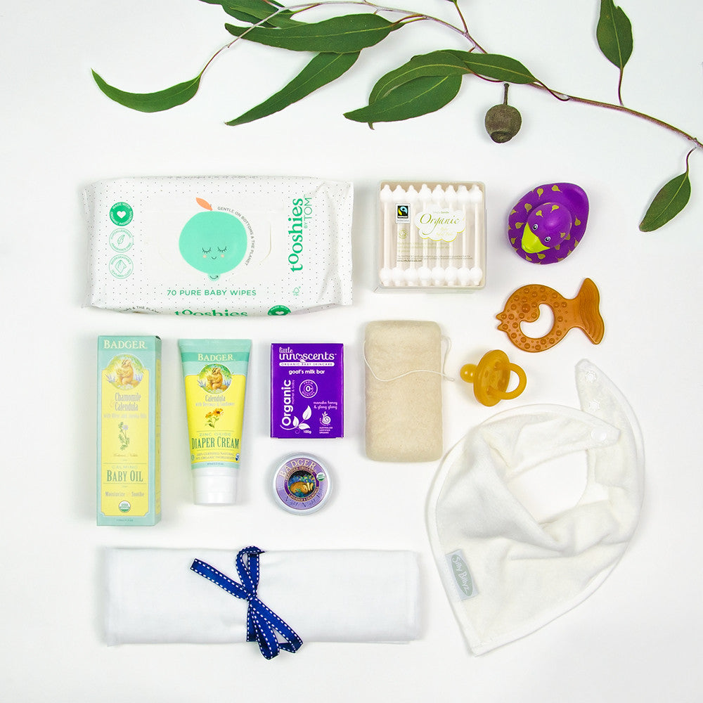 Pure Organic and all Natural Care Package for new Baby