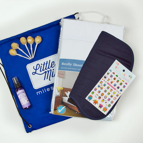 Toilet Training Survival Kit including the award winning Brolly Sheets