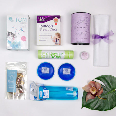 Breast Feeding Essentials Care Package - set yourself up for breast feeding success