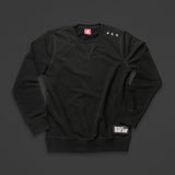 15th wmn's TITOS crewneck black/white small 3 star logo