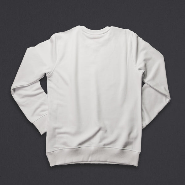 15th wmn's TITOS crewneck white/black small 3 star logo