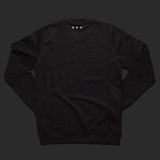 12th TITOS crewneck black/white letter chest logo