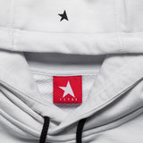 8th TITOS hoodie white/black with star + letters logo