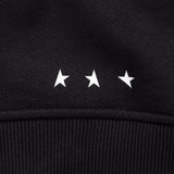 10th Titos crewneck black white detail