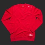 11th TITOS crewneck red/white small 3 star logo