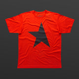 First T-shirt red/black TITOS star logo