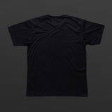 Fourth T-shirt black/black TITOS 3 star block logo