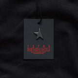 Fifth hoodie black/red TITOS star logo