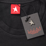 14th women's TITOS crewneck black/black large star logo