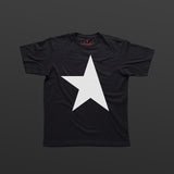 First T-shirt black/white TITOS star logo